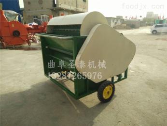 ST-400青毛豆采摘机器 毛豆荚采摘机视频 小型家用 生产厂家