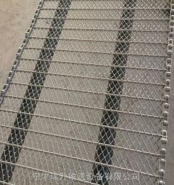 专业定做不锈钢链网 双旋网带 清洗机网带 速冻机网带