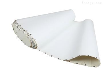 白色PU转弯机皮带输送带-白色PU转弯机皮带