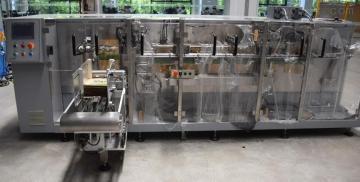 膨化食品包装机(夹链)全自动装袋封口