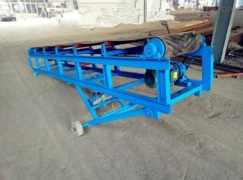 xy-100袋装散料装车皮带机 自动升降爬坡输送机