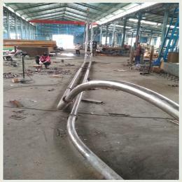 管鏈輸送機不銹鋼管鏈輸送機多少錢廠家推薦 傾斜管鏈