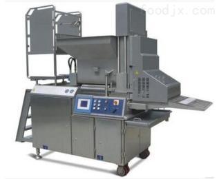诸城CXJ600全自动成型机.肉饼生产线,裹粉生产线