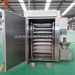 SZ-250全自动腊肠烟熏炉 红肠蒸煮炉 蒸煮烟熏时间可控 操作简单