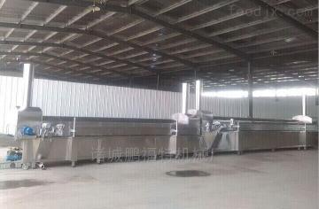 yf-10000虾片虾条油炸生产线厂家直销
