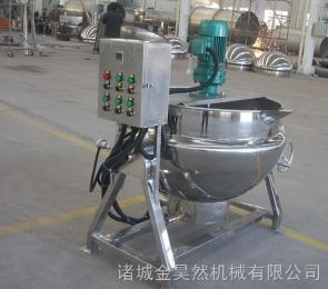 不锈钢电加热夹层锅 熬汤蒸煮锅