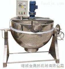 可倾式火锅汤料熬制夹层锅  加工火锅汤料熬制夹层锅  不锈钢可倾式夹层锅