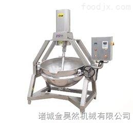 蒸汽蔬菜搅拌夹层锅  大型蔬菜炒制搅拌夹层锅  商用蒸汽蔬菜炒锅