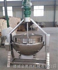大型电加热肉食品蒸煮锅   可倾式电加热蒸煮锅