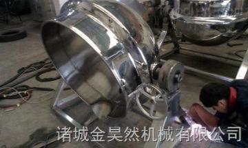 可倾式电加热夹层锅   不锈钢电加热夹层锅  大型食品专用夹层锅