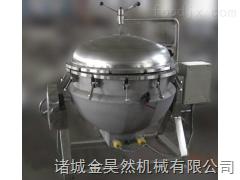 电加热餐厅专用汤料蒸煮夹层锅   汤料蒸煮夹层锅设备  电加热可倾式夹层锅