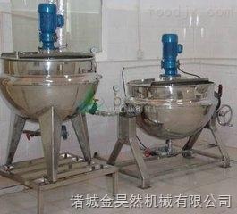 蒸汽加熱方便面調料攪拌夾層鍋   可傾式方便面調料夾層鍋