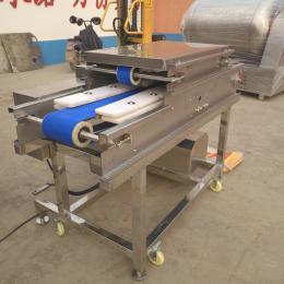 QP-200供应双通道切肉片机器  鸡胸鸭胸鲜肉切片机