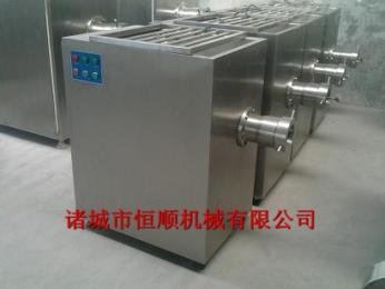 120 可以根据需要定制恒顺 供应120全自动不锈钢绞肉机 冷冻肉绞肉机