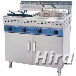 HEF-482/C加厚商用双缸四筛电炸炉油炸锅炸油条炸鸡排薯条机炸薯塔机油炸机