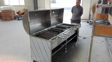 HM-KTL-2兴达环美烤鱼炉 烧烤炉 烤羊腿炉摇滚烤炉