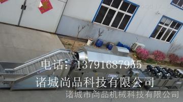 SP-3000山東諸城尚品公司專業生產節約用水型軟包裝袋滾筒洗袋機