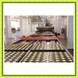 800型注芯蛋糕生产线/蛋糕成型机/半自动蛋黄派生 3ffe 产线/带喷油蛋糕机