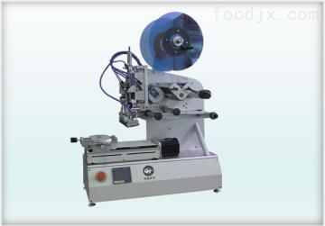 LH1105半自动高精度吸滚贴贴标机