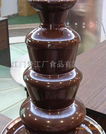 巧克力喷泉机