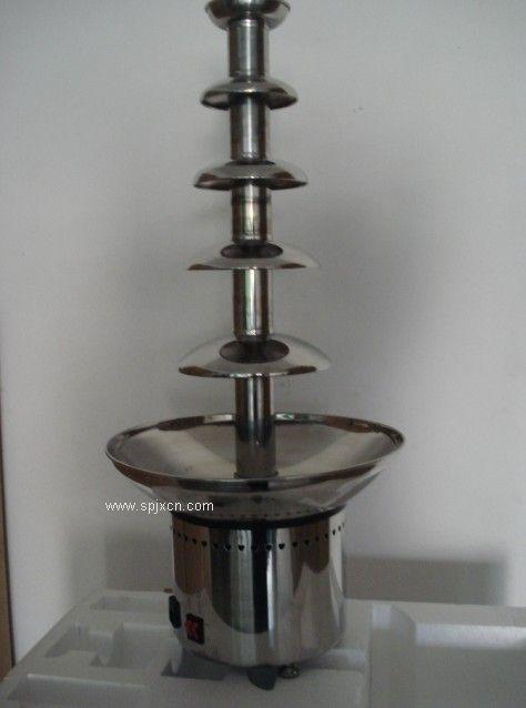 五層巧克力噴泉機