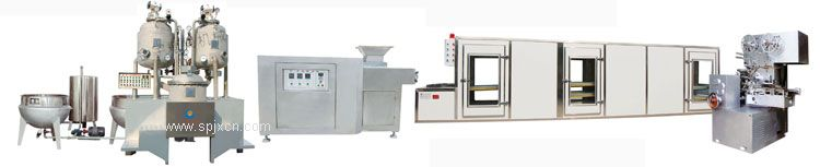 ZD-380型牛轧糖生产线