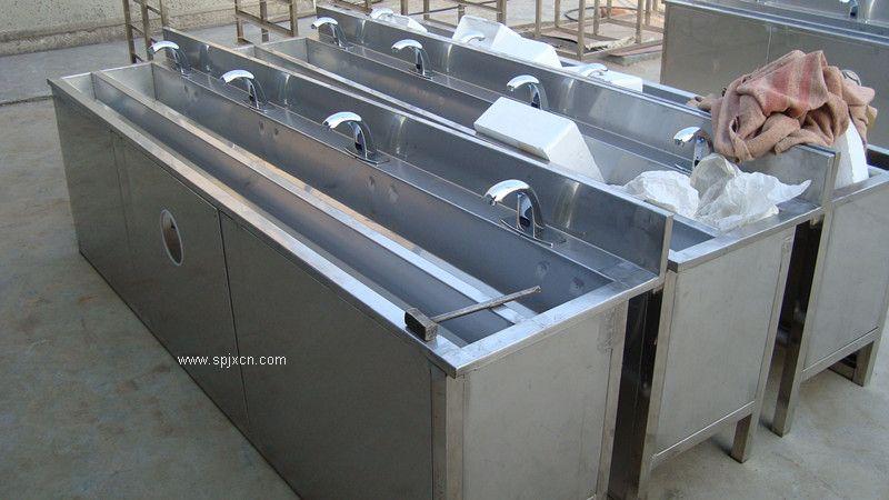 不锈钢洗手消毒槽