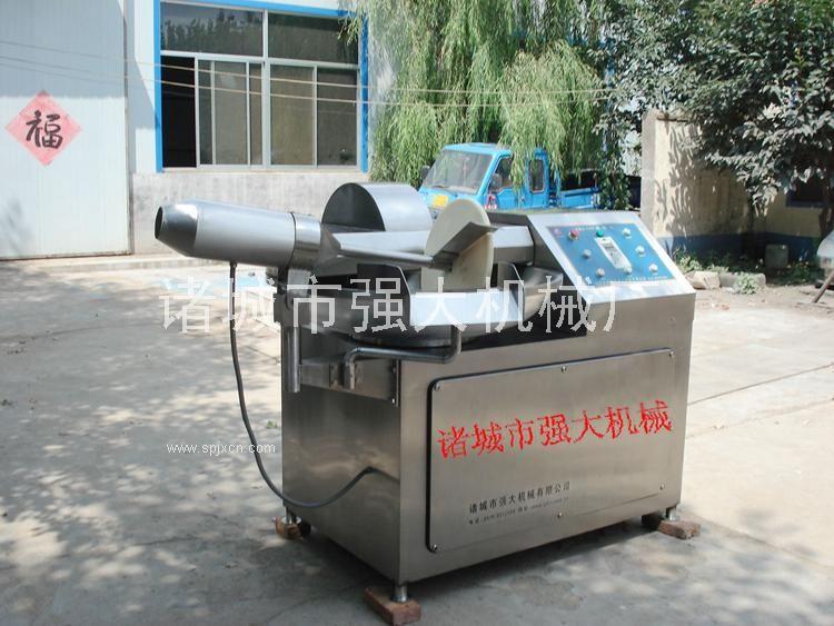 變頻調速斬拌機 不銹鋼自動出料斬拌機 *斬刀斬拌機批發