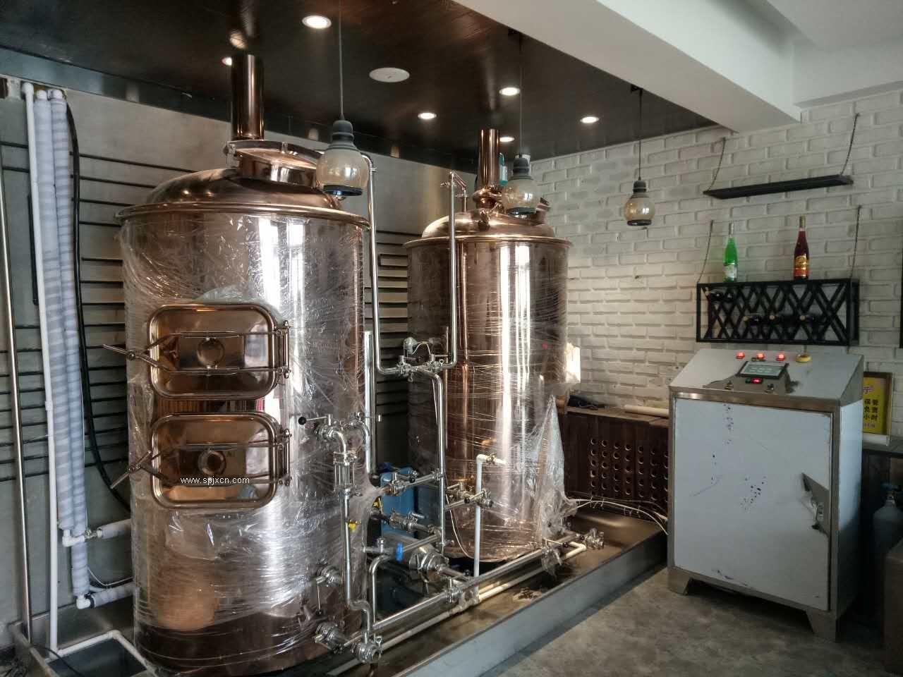 河北小型啤酒设备厂家,原浆啤酒设备