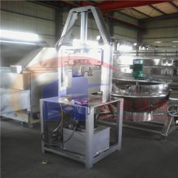 劈半机800食品机械液压式脚踏式劈半机纯不锈钢制造猪头留脑劈半机