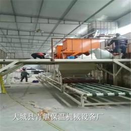 輕質防火水泥基勻質板設備保溫板生產線