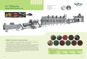 SP70-II250kg/h水產飼料膨化機