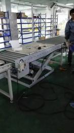 SSJX-PDSSJ-57滚筒式升降机 滚筒流水线升降平台 非标气动滚筒式升降机