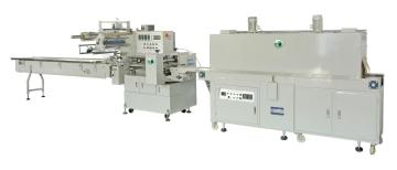 DK-250LPof膜熱收縮包裝機,六連杯酸奶熱收縮包裝機