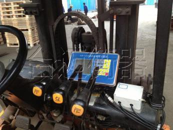 柴油叉车改装电子秤 合力叉车加装称重设备