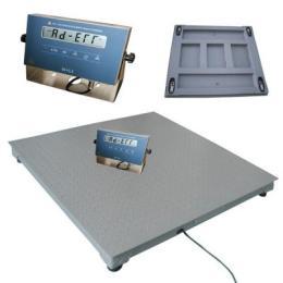 0.8×1.0m防爆电子地磅秤,0.8×1.0m防爆电子地磅带RS232接口