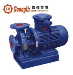 www.goooglb.ccISWB型卧式单级防爆管道增压泵