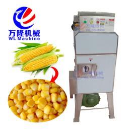 YM-500自动甜玉米鲜玉米剥粒机糯玉米脱粒机