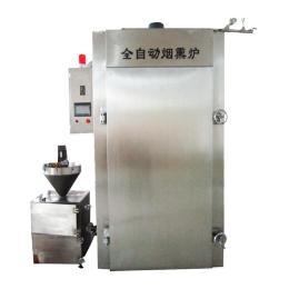 1000益眾蒸煮烘干爐肉制品煙熏上色設備
