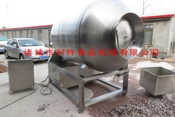 GR-1600全自动快速滚揉搅拌真空腌制机自动出料