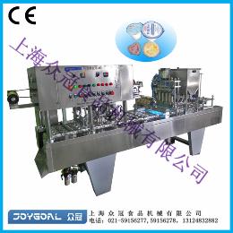BHJ-4果冻灌装封口机/鲜奶灌装机/汤料灌装机