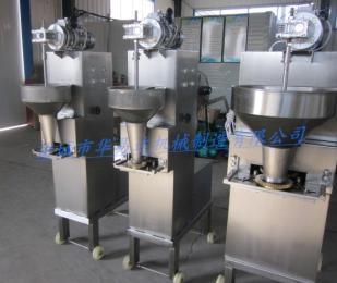 HYD-200 V可制作各种规格丸子的成型蒸煮设备华易达全自动丸子机