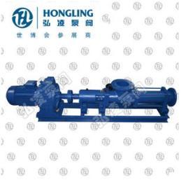 G30-1型单螺杆泵,单螺杆泵性能,不锈钢螺杆泵