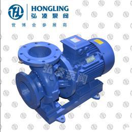 ISW40-100卧式管道离心泵,卧式管道泵型号,卧式单级离心泵