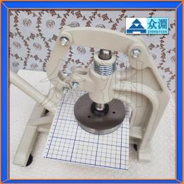 手压式取样器,手压克重仪,手压式圆盘取样器