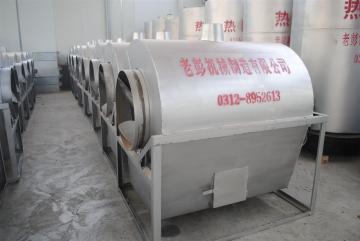 LP-120老彭机械LP-120大型瓜子炒货机厂家价格炒板栗炒花生炒栗子