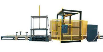 托盘连线式拉伸膜缠绕包装机厂家定制