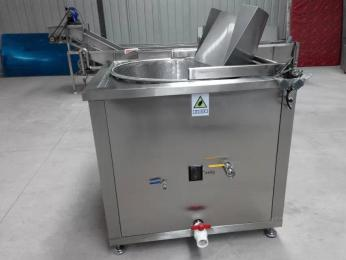 猪蹄油水混合油炸机供货商 全自动油炸机zui新走势