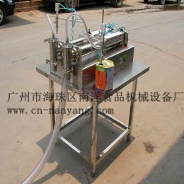BH型膏体灌装机液体灌装机半自动灌装机双头不锈钢灌装机