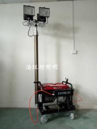 汽油发电机升降灯 自发电应急发电灯 升降泛光发电灯
